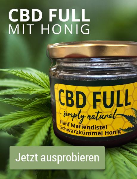 CBD FULL mit Honig jetzt ausprobieren