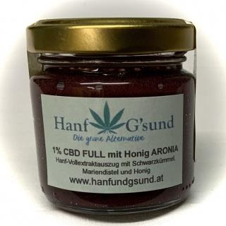 CBD FULL mit Honig Kurkuma 1% 50g