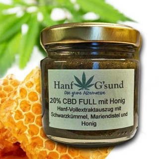 CBD FULL mit Honig 20% 50 Gramm
